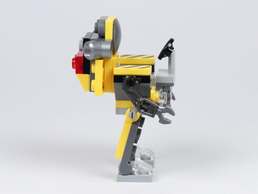 THE LEGO MOVIE 2 Mini-Baumeister Emmet (30529) - Roboter, rechte Seite | ©2019 Brickzeit