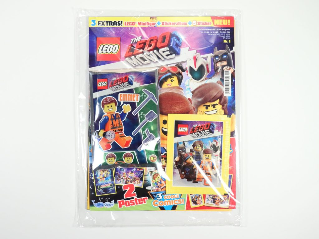THE LEGO® MOVIE 2™ Magazin Nr. 1 - verpackt | ©2019 Brickzeit