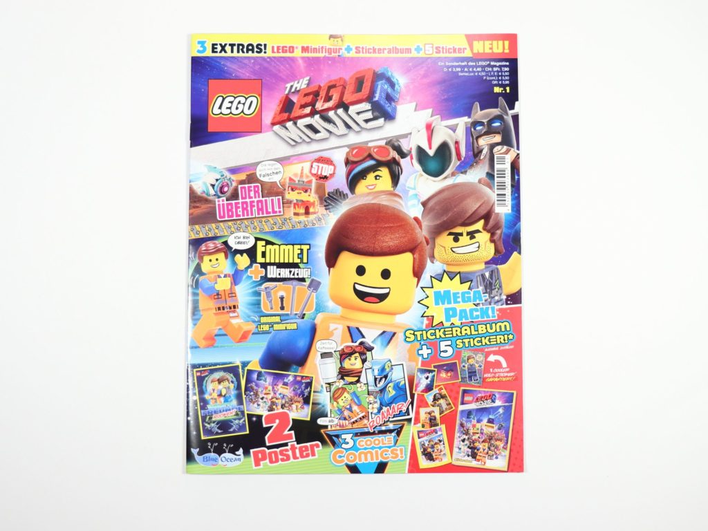 THE LEGO® MOVIE 2™ Magazin Nr. 1 - Cover | ©2019 Brickzeit