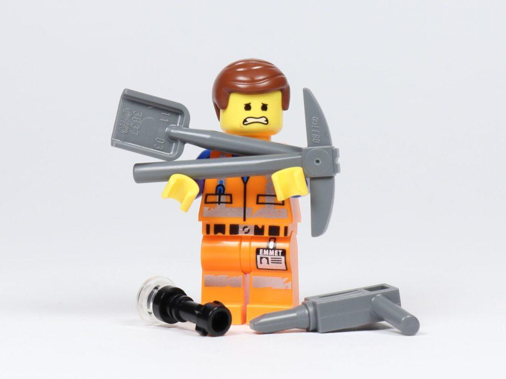Ganz schön schwer! | ©2019 Brickzeit