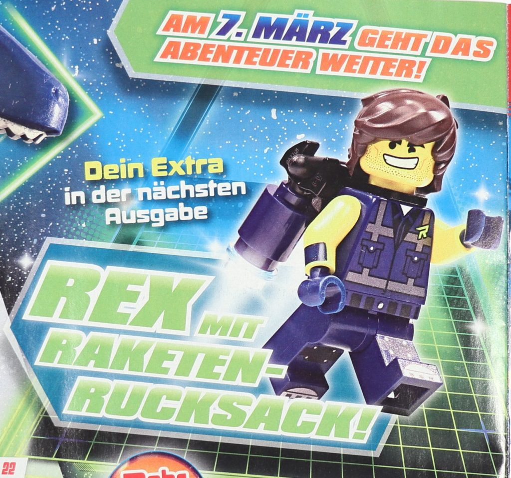 THE LEGO® MOVIE 2™ Magazin Nr. 1 - Heftvorschau | ©2019 Brickzeit