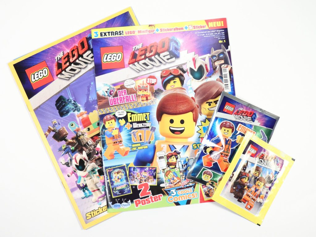 THE LEGO® MOVIE 2™ Magazin Nr. 1 | ©2019 Brickzeit