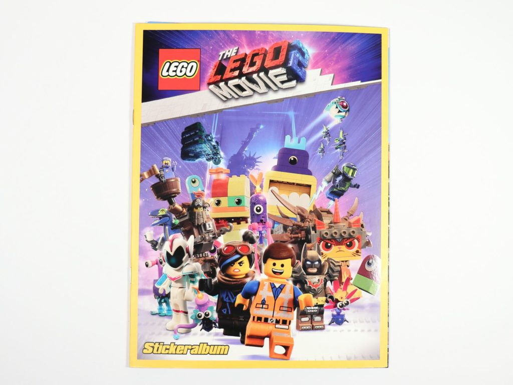 THE LEGO® MOVIE 2™ Magazin Nr. 1 - Stickeralbum | ©2019 Brickzeit