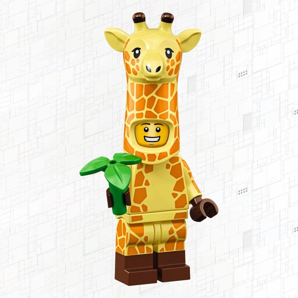 LEGO 71023 - Giraffenmann | © 2019 LEGO Gruppe