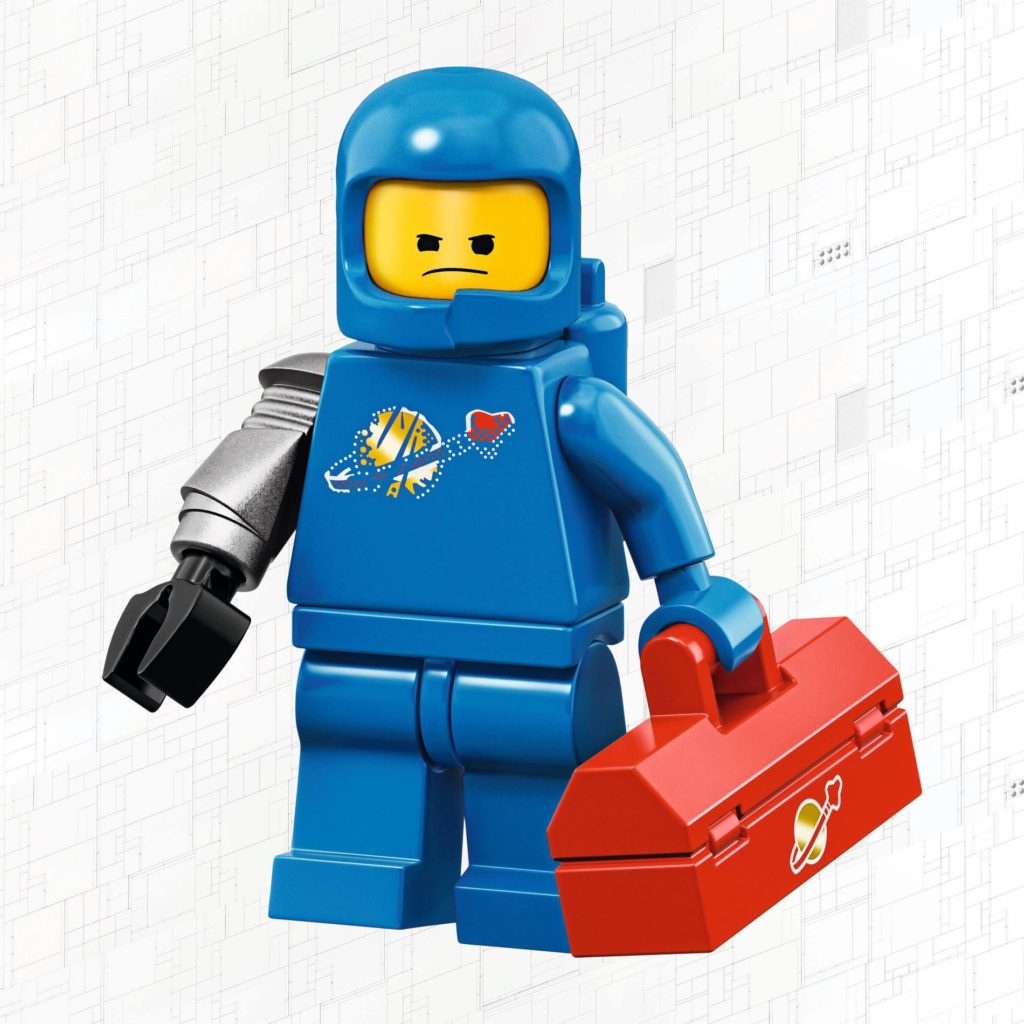 LEGO 71023 - Benny | © 2019 LEGO Gruppe