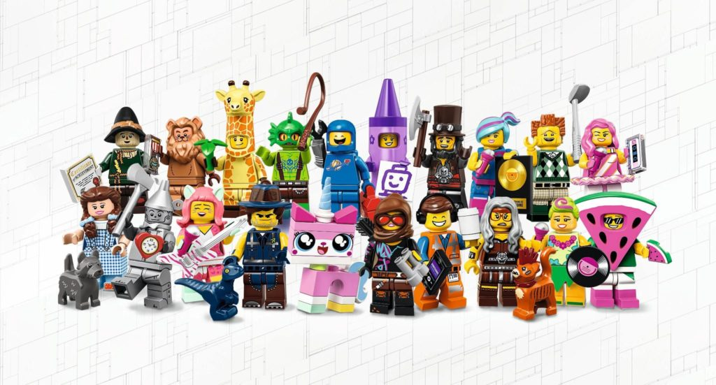 THE LEGO MOVIE 2 Minifiguren Sammelserie (71023) - Gruppenfoto | © 2019 LEGO Gruppe