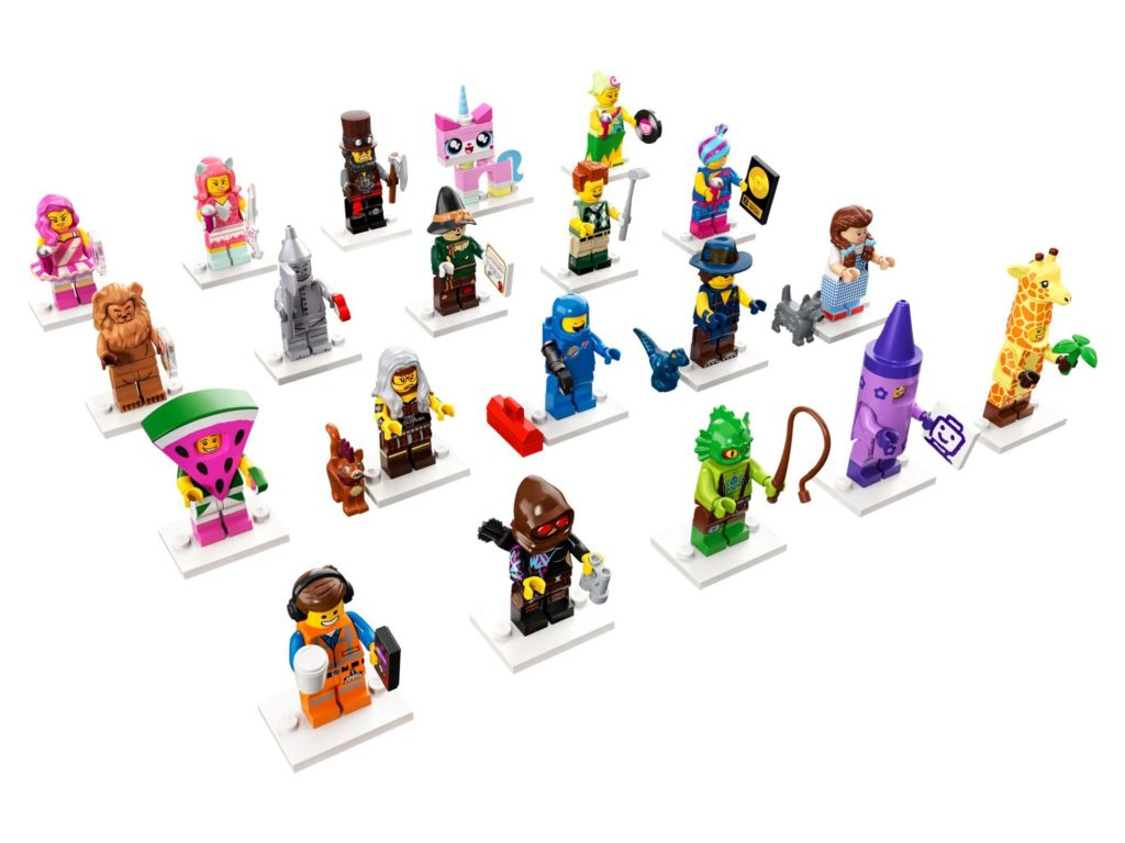 THE LEGO® MOVIE 2 Minifiguren Sammelserie (71023) - Übersicht | ®LEGO Gruppe