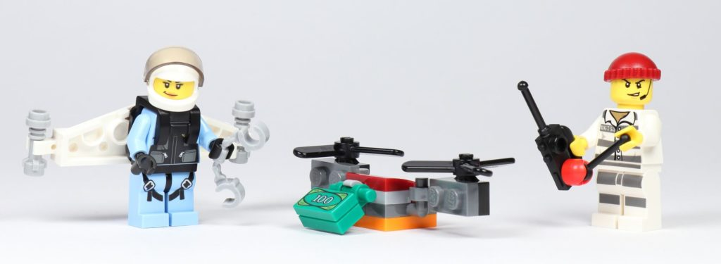 LEGO® City 30362 Raketenrucksack - Set | ©2019 Brickzeit