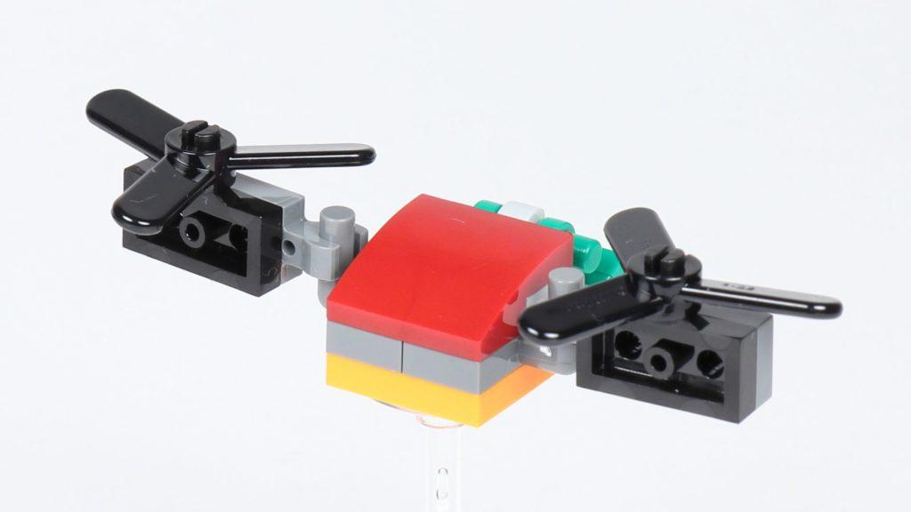 LEGO® City 30362 Raketenrucksack - Drohne, Rückseite | ©2019 Brickzeit