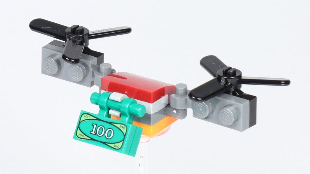 LEGO® City 30362 Raketenrucksack - Drohne, Vorderseite | ©2019 Brickzeit
