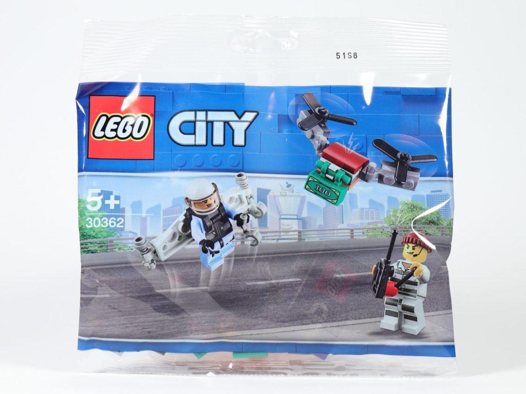 LEGO® City 30362 Raketenrucksack - Polybag | ©2019 Brickzeit