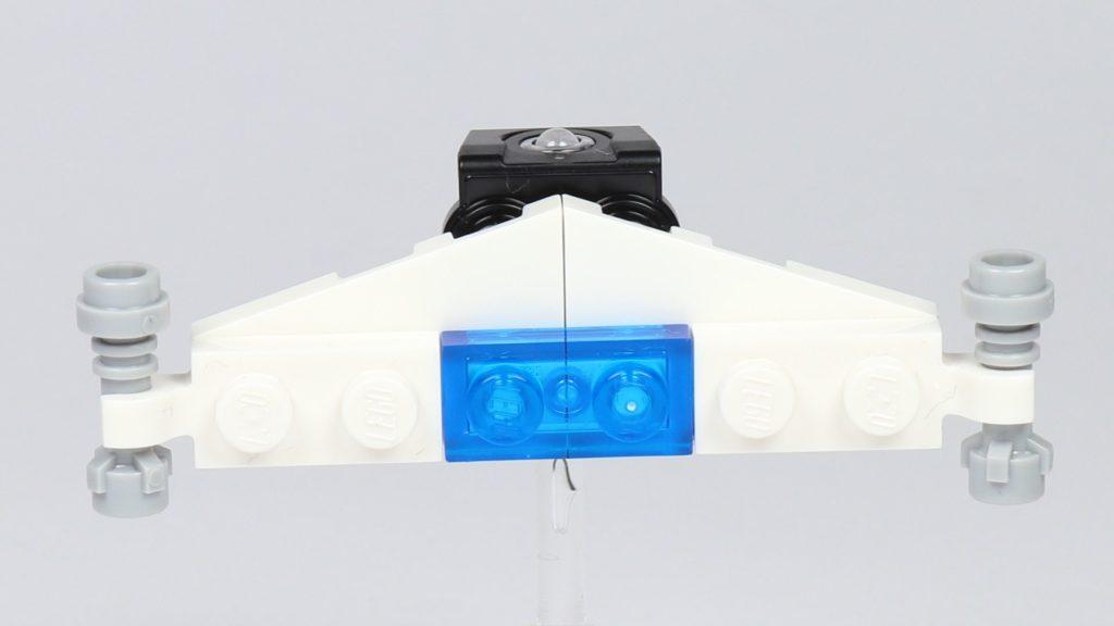 LEGO® City 30362 Raketenrucksack - Rucksack mit Flügel, Vorderseite | ©2019 Brickzeit