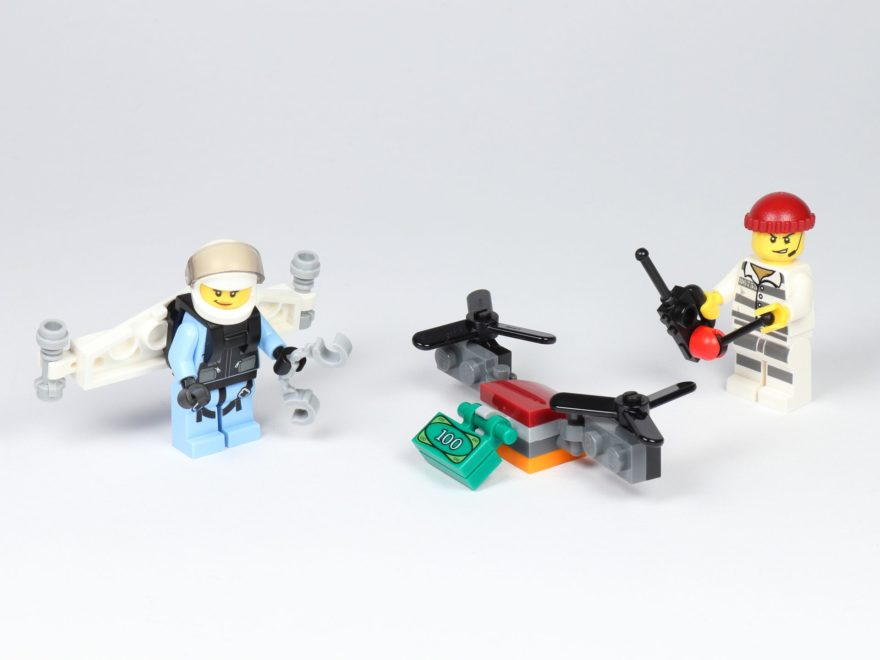 LEGO® City 30362 Raketenrucksack Polybag - Titelbild | ©2019 Brickzeit