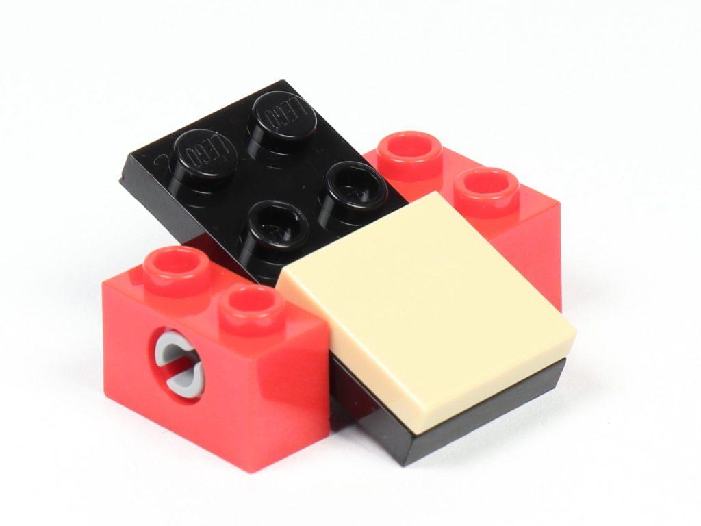 LEGO® City 30364 Popcorn Stand - Aufbau, Wippe | ©2019 Brickzeit