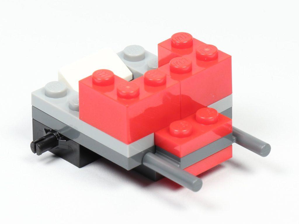 LEGO® City 30364 Popcorn Stand - Aufbau, Griff | ©2019 Brickzeit