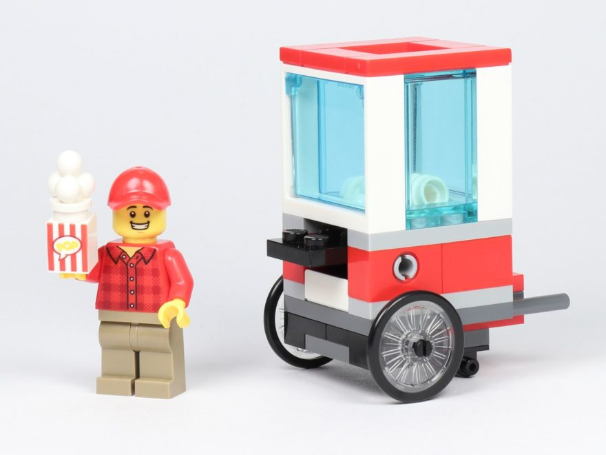 LEGO® City 30364 Popcorn Stand - Titelbild | ©2019 Brickzeit