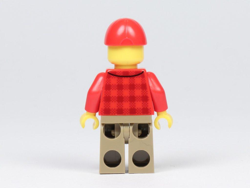 LEGO® City 30364 Popcorn Stand - Minifigur, Popcorn-Verkäufer, Rückseite | ©2019 Brickzeit
