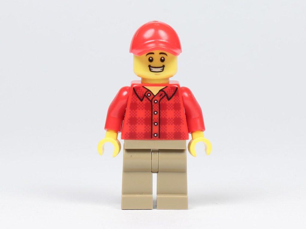 LEGO® City 30364 Popcorn Stand - Minifigur, Popcorn-Verkäufer, Vorderseite | ©2019 Brickzeit
