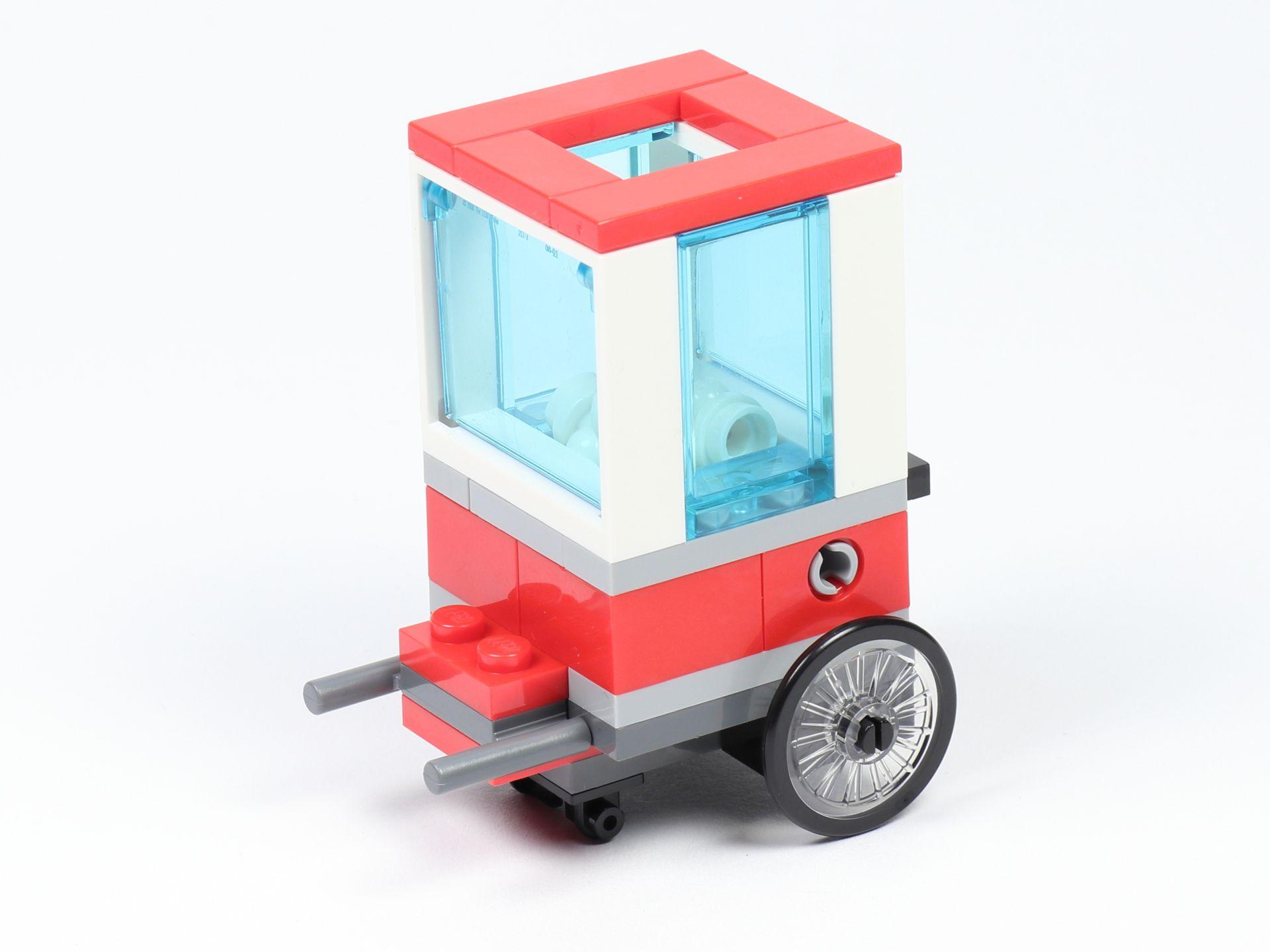 Popcorn Stand Cart Verkäufer Pop Corn Polybag LEGO City 30364 Popcorn Wagen