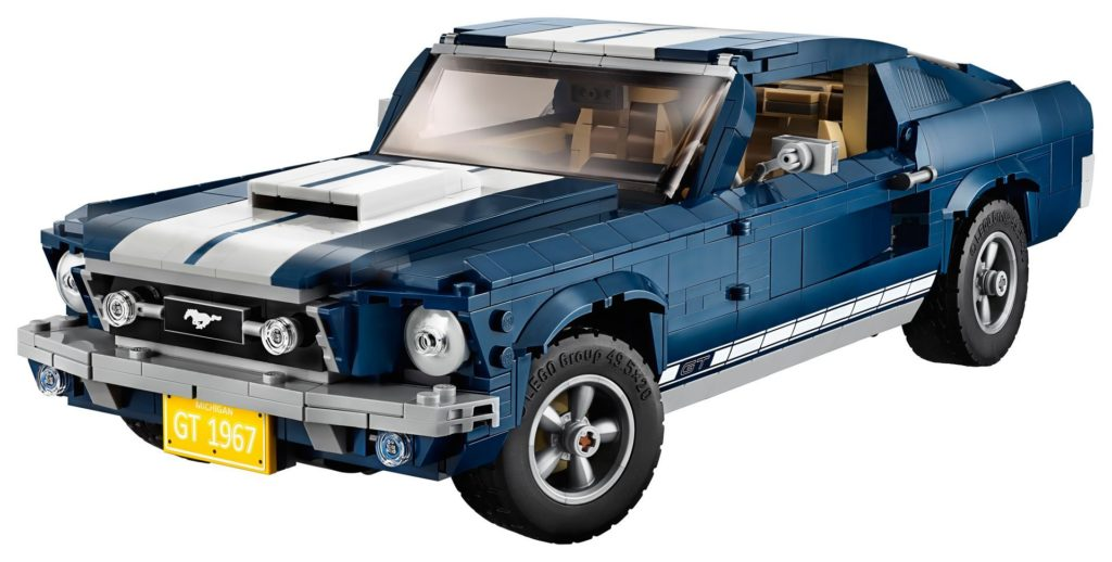 LEGO® Creator Exper 10265 Ford Mustang - Bild 03 | ©LEGO Gruppe