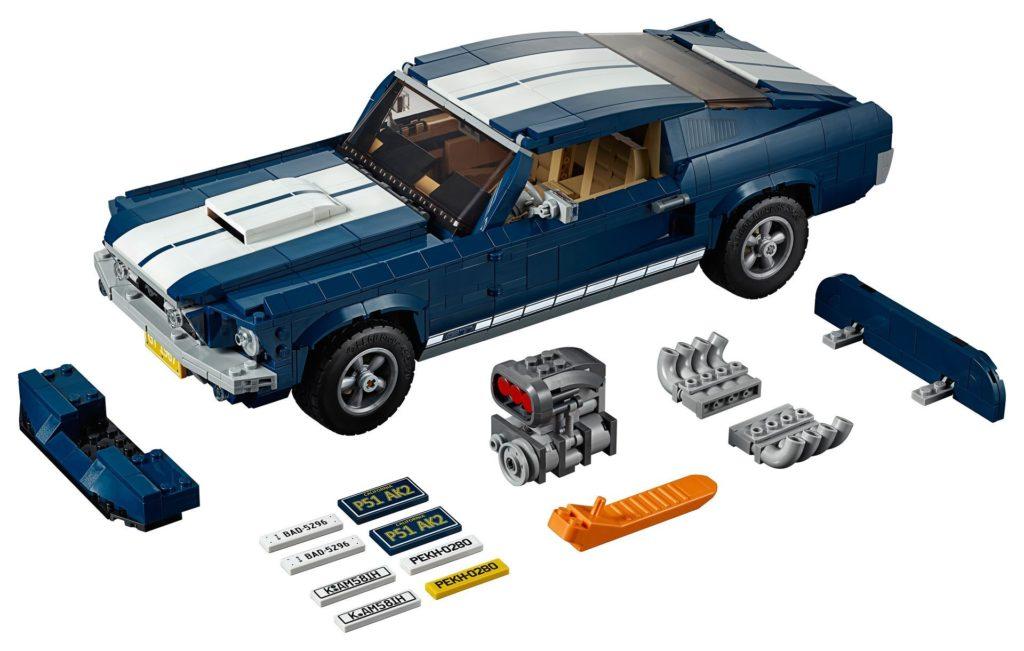 LEGO® Creator Exper 10265 Ford Mustang - Bild 07 | ©LEGO Gruppe