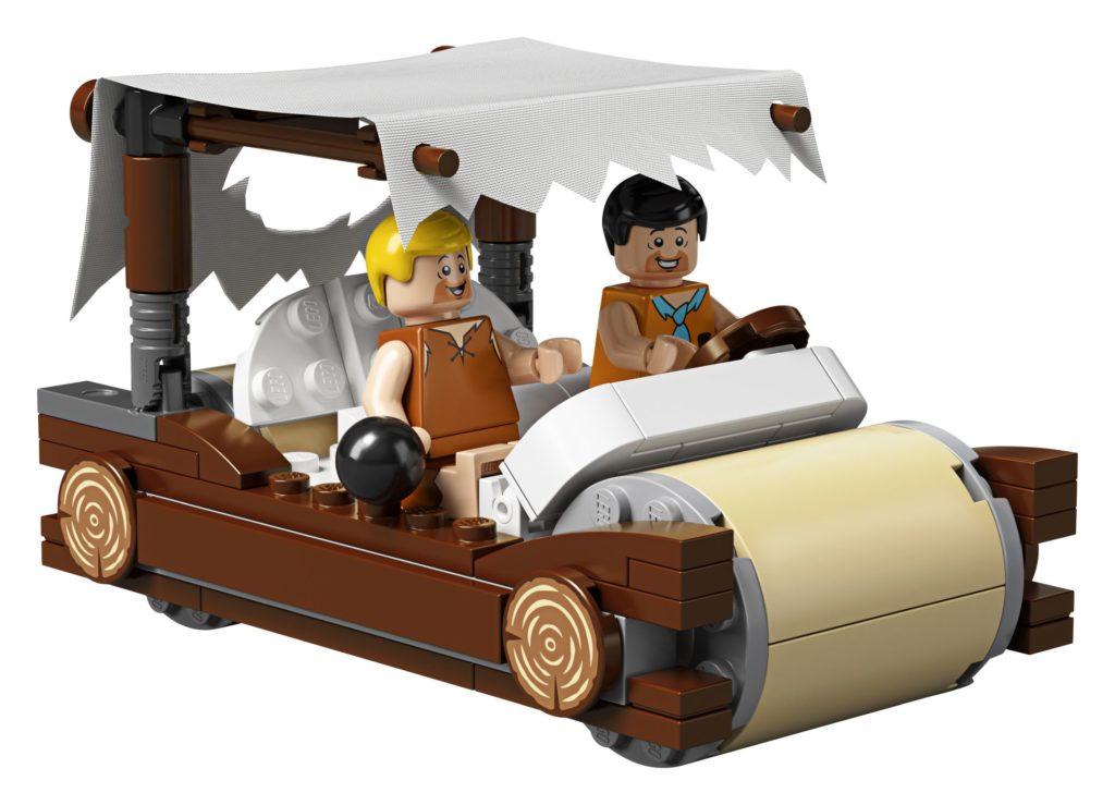 LEGO® Ideas 21316 - Fred und Barney auf dem Weg zum Bowling   ©LEGO Gruppe
