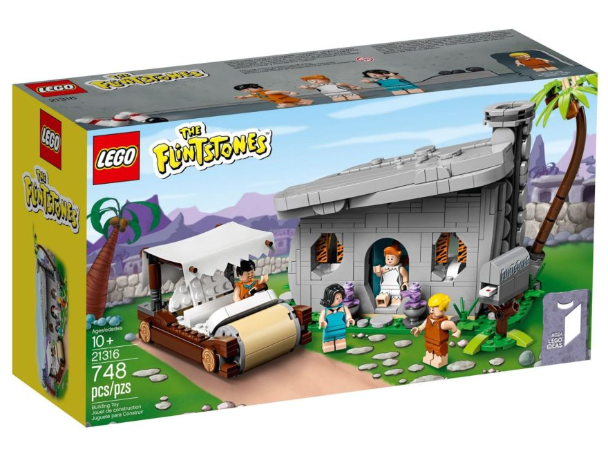 LEGO® Ideas 21316 The Flintstones - Familie Feuerstein | ©LEGO Gruppe