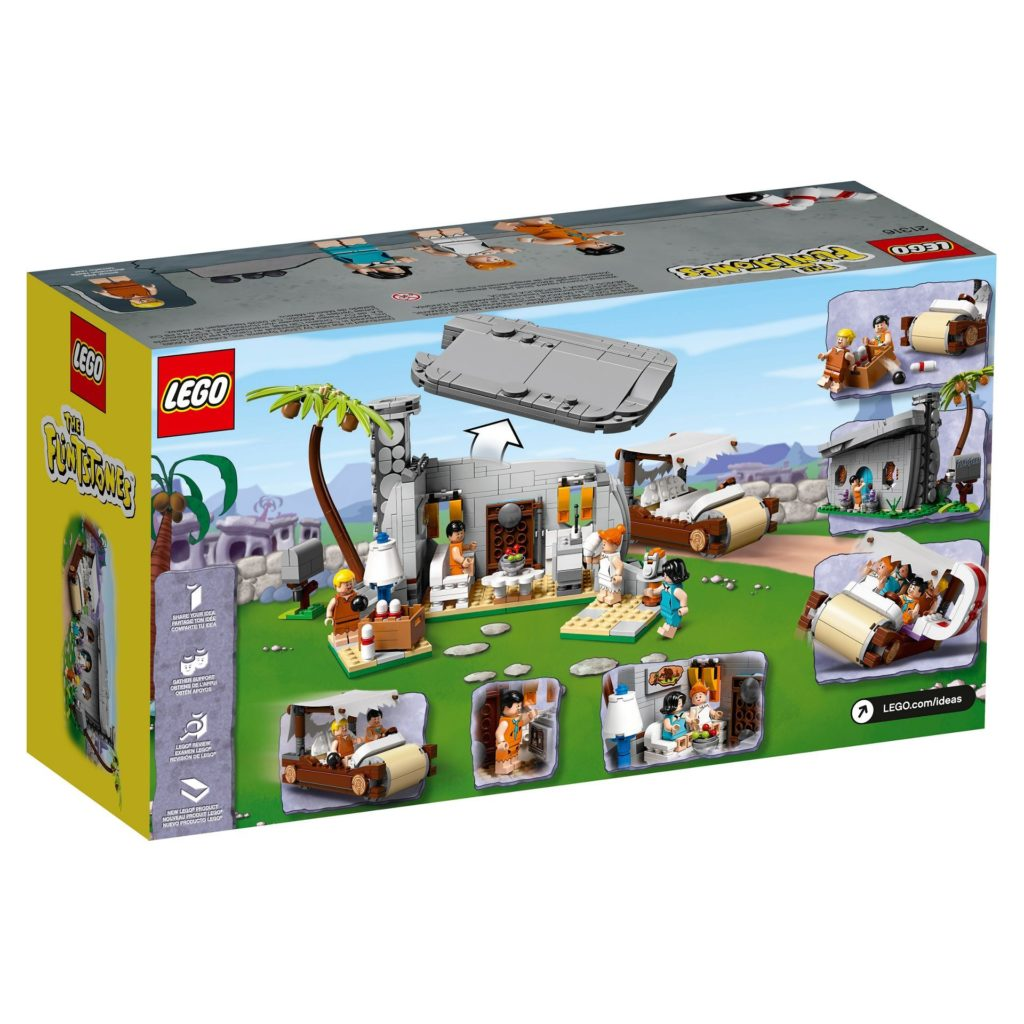 LEGO® Ideas 21316 - Packung Rückseite   ©LEGO Gruppe