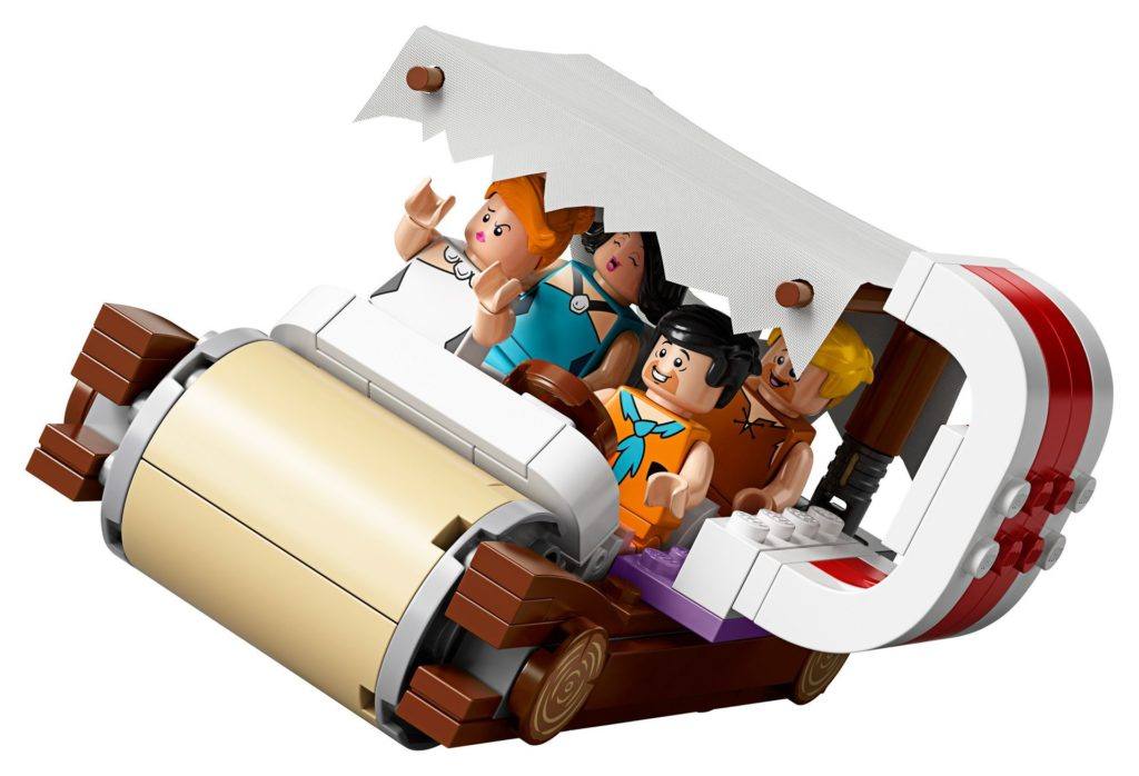 LEGO® Ideas 21316 - Das Auto kippt gleich!   ©LEGO Gruppe