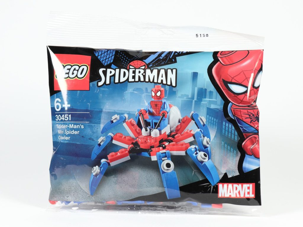 LEGO® Marvel 30451 Spider-Mans Mini Spider Crawler - Polybag | ©2019 Brickzeit