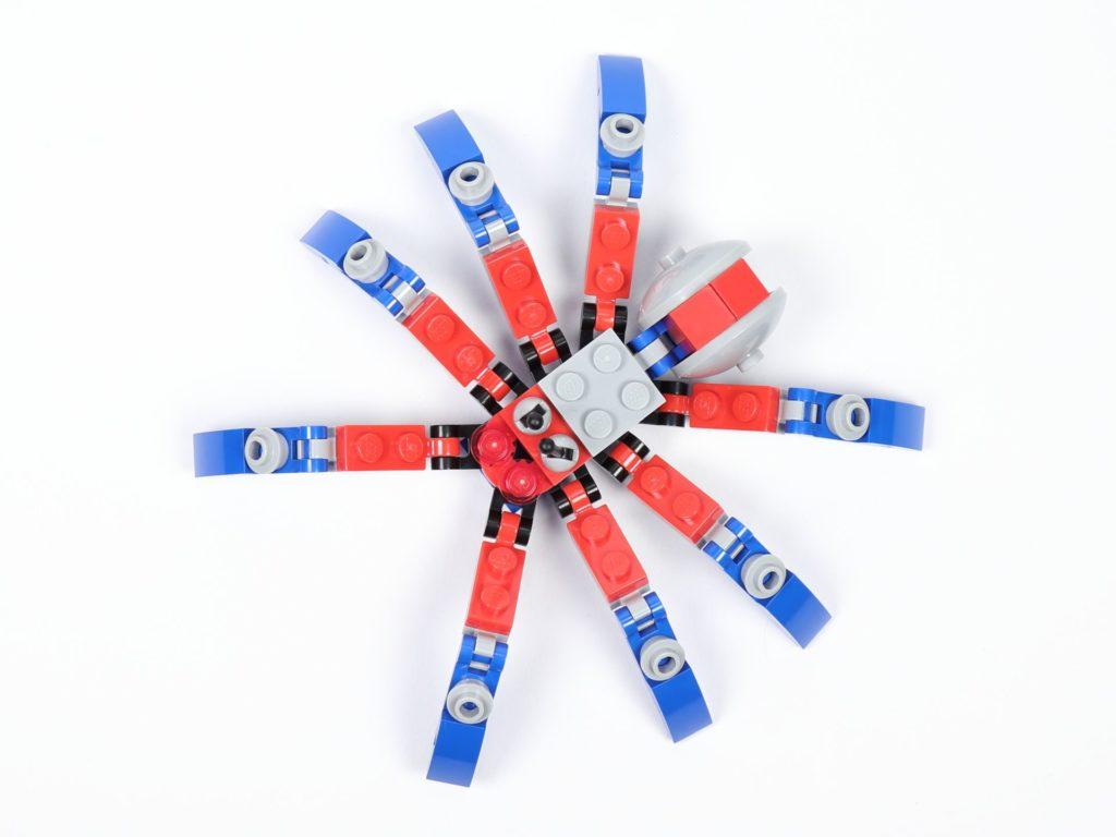 LEGO® Marvel 30451 Spider-Mans Mini Spider Crawler - Draufsicht | ©2019 Brickzeit