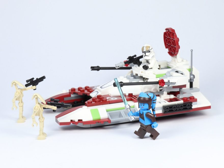 LEGO® Star Wars™ 75182 Republic Fighter Tank - Titelbild | ©2019 Brickzeit