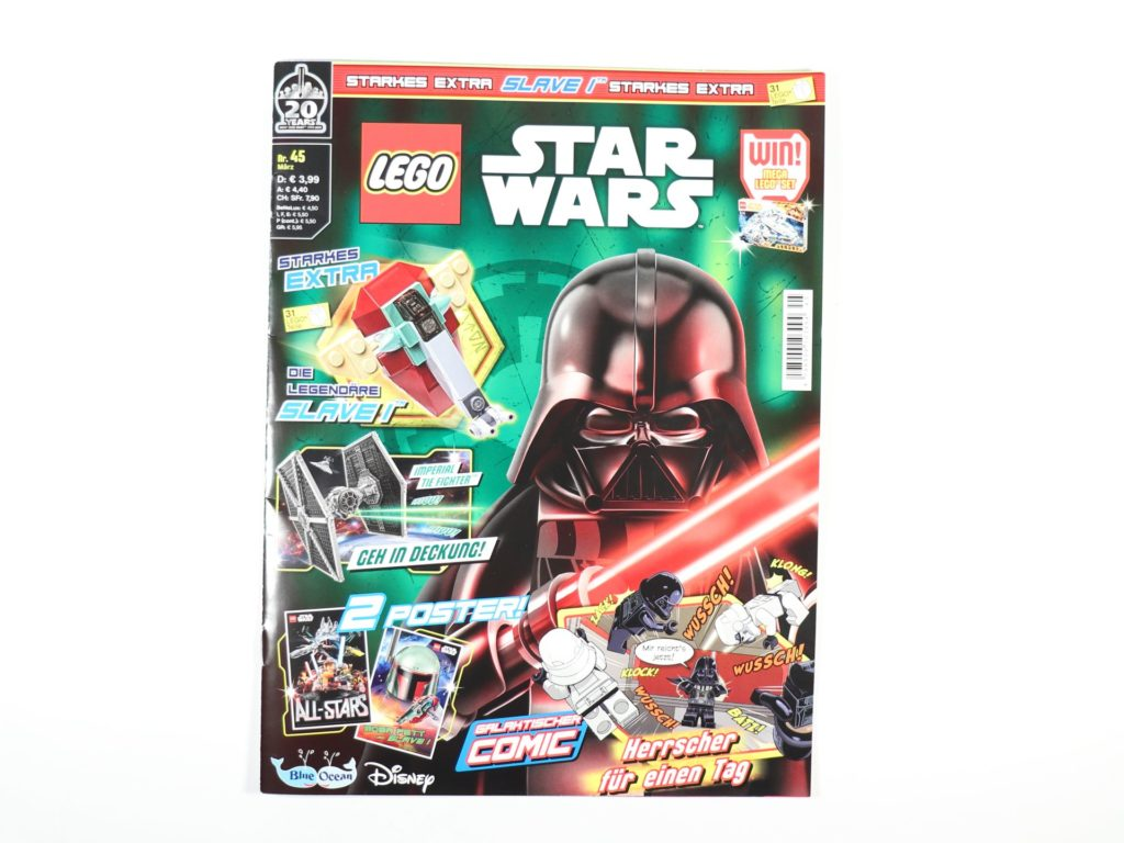 LEGO® Star Wars™ Magazin Nr. 45 / Februar 2019 - Cover | ©2019 Brickzeit