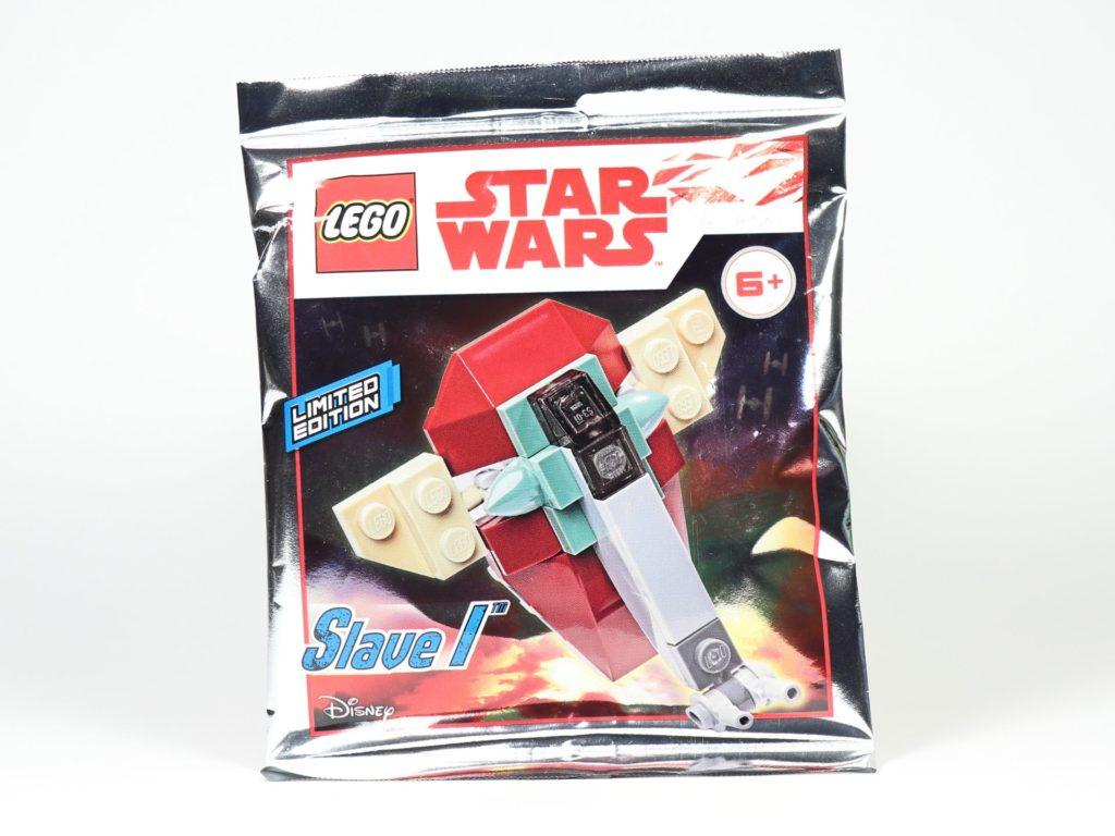 LEGO® Star Wars™ Magazin Nr. 45 / Februar 2019 - Polybag 911945 mit Slave I | ©2019 Brickzeit