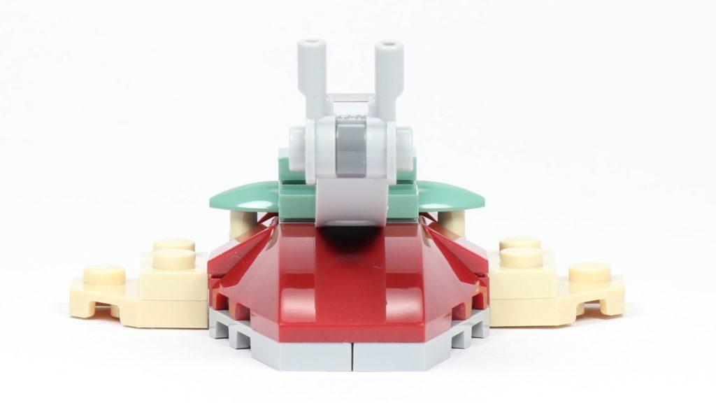 LEGO® Star Wars™ Slave I (Item 911945) - liegend, Blick auf Blaster | ©2019 Brickzeit