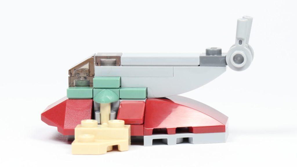 LEGO® Star Wars™ Slave I (Item 911945) - rechte Seite | ©2019 Brickzeit