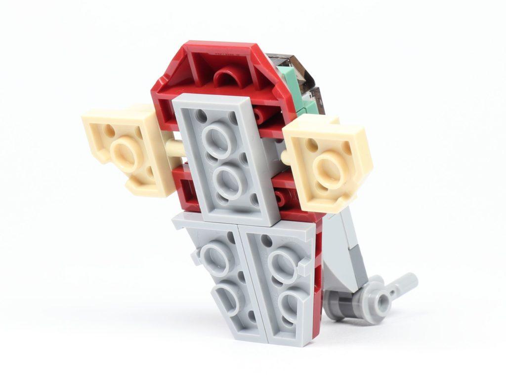 LEGO® Star Wars™ Slave I (Item 911945) - hinten rechts | ©2019 Brickzeit