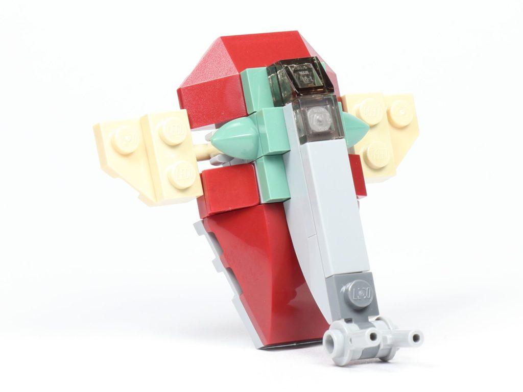 LEGO® Star Wars™ Slave I (Item 911945) - vorne rechts | ©2019 Brickzeit