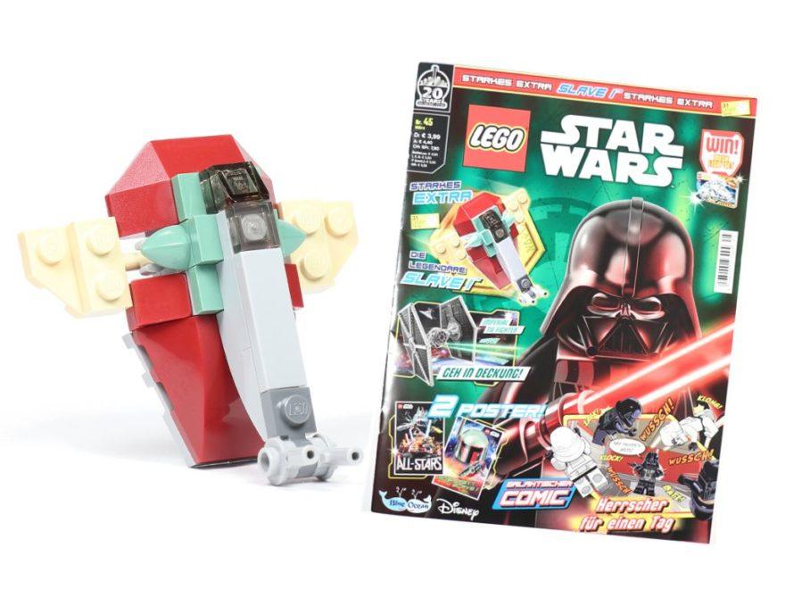 LEGO® Star Wars™ Magazin Nr. 45 / Februar 2019 - Titelbild | ©2019 Brickzeit