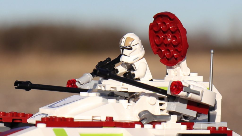 LEGO® Clone Trooper in Republic Fighter Tank | ®2019 Brickzeit