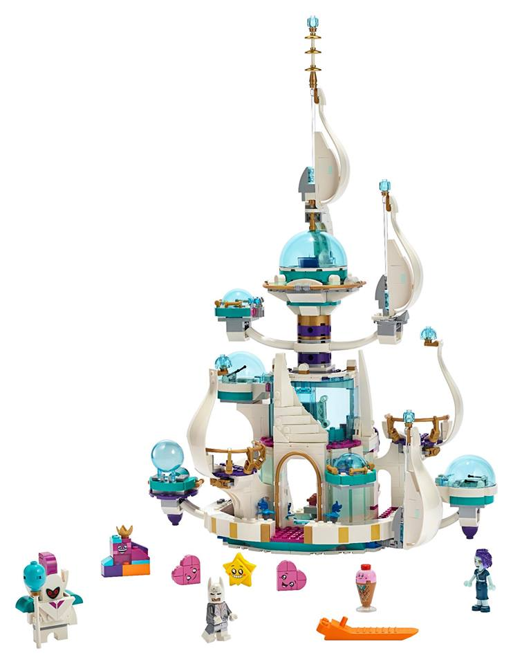 THE LEGO Movie 2 Queen Watevra's 'So-Not-Evil' Space Palace | ©LEGO Gruppe