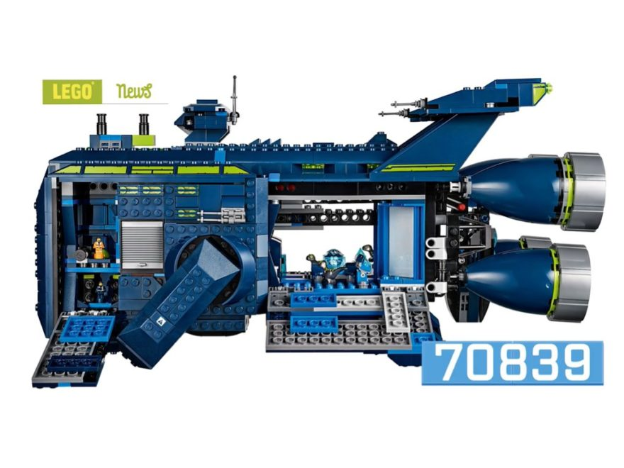 THE LEGO Movie 2 Rexcelsior (70839) | ©LEGO Gruppe
