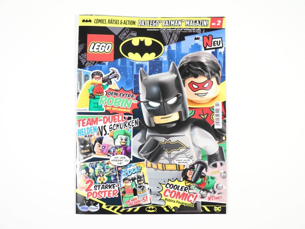 LEGO® Batman™ Magazin Nr. 2 - Cover | ©2019 Brickzeit
