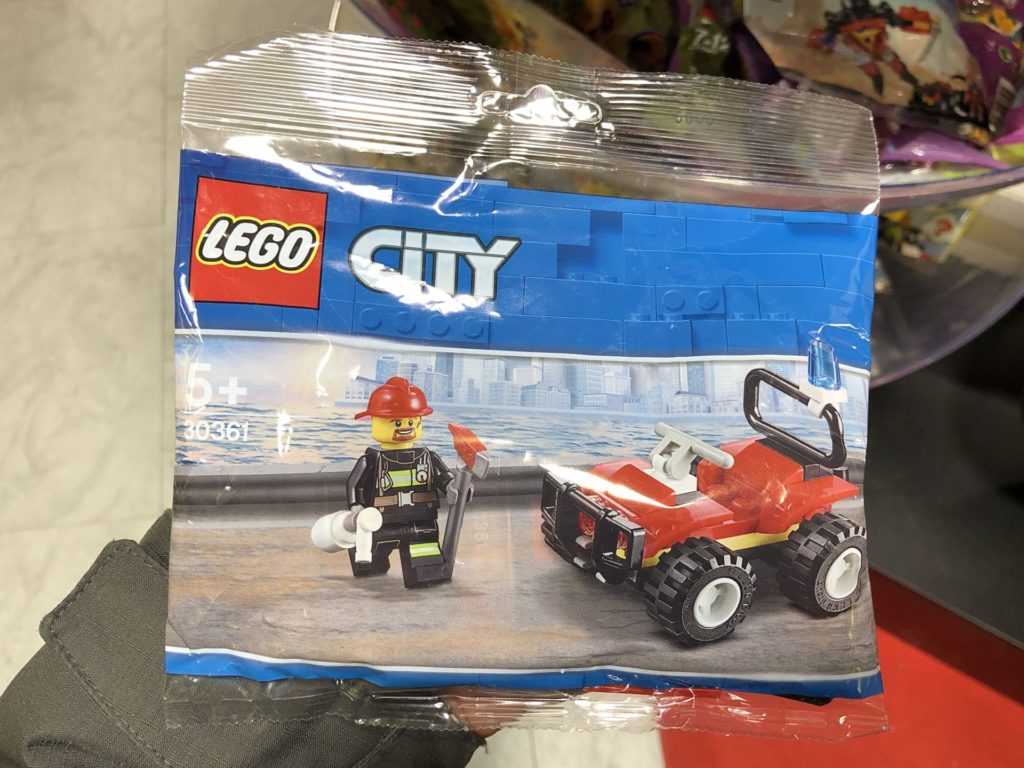 LEGO® City 30361 Feuerwehr Quad Polybag | ©2019 Brickzeit