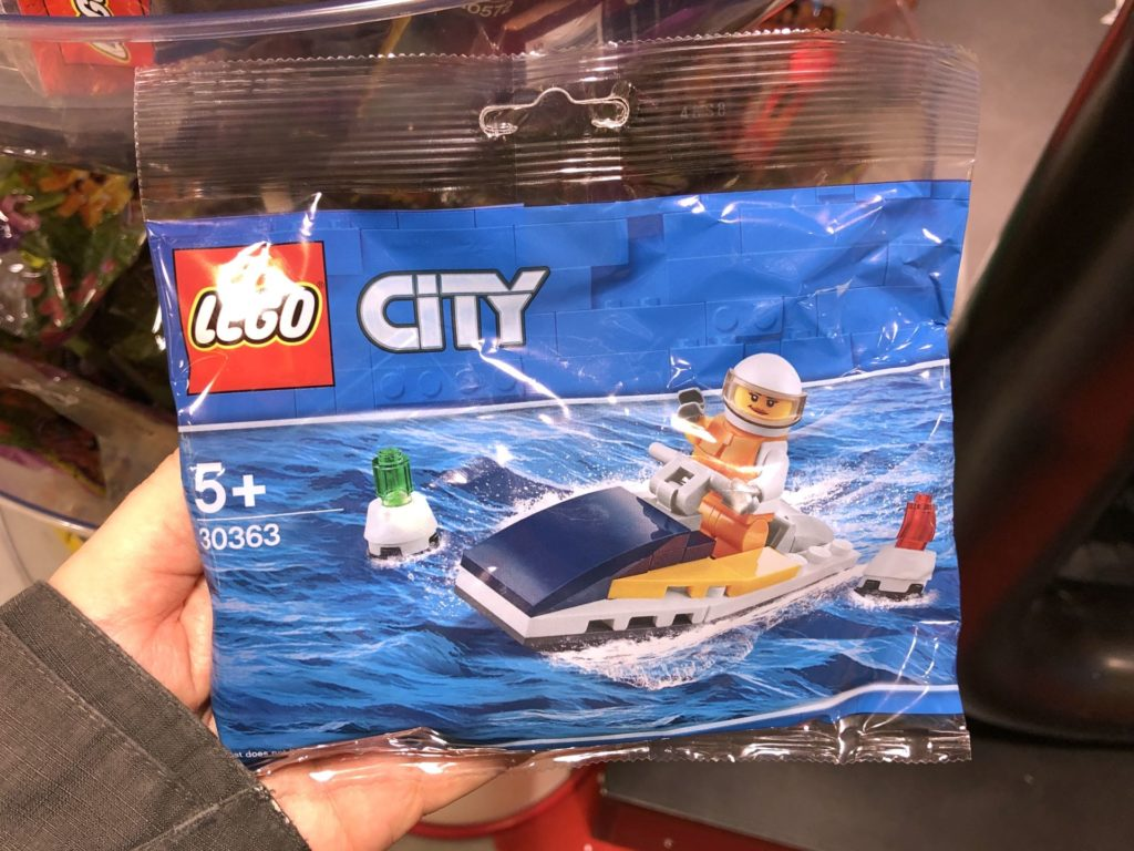 LEGO® City 30363 Race Boat Polybag | ©2019 Brickzeit