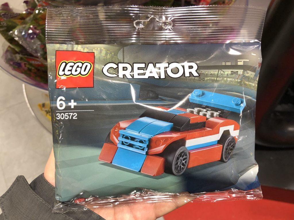 LEGO® Creator 30572 Rennauto Polybag | ©2019 Brickzeit