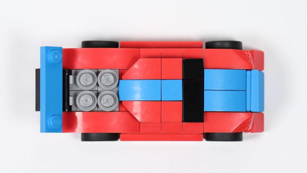 LEGO® Creator 30572 Rennauto - Draufsicht | ©2019 Brickzeit