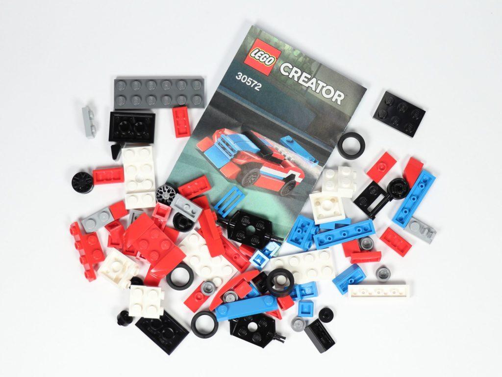 LEGO® Creator 30572 Rennauto - Polybag Inhalt | ©2019 Brickzeit