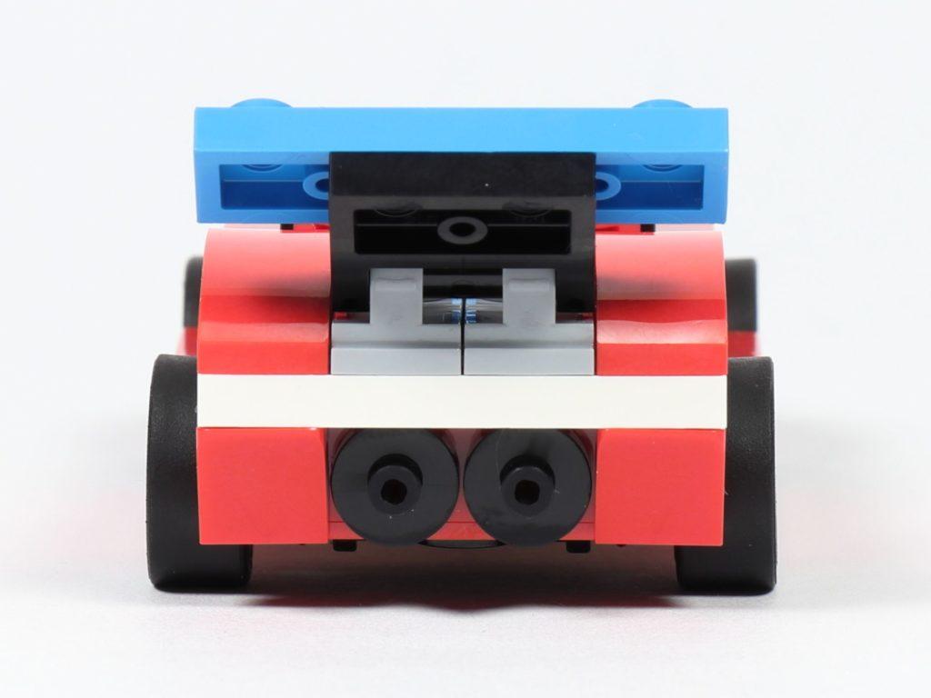 LEGO® Creator 30572 Rennauto - Rückseite | ©2019 Brickzeit