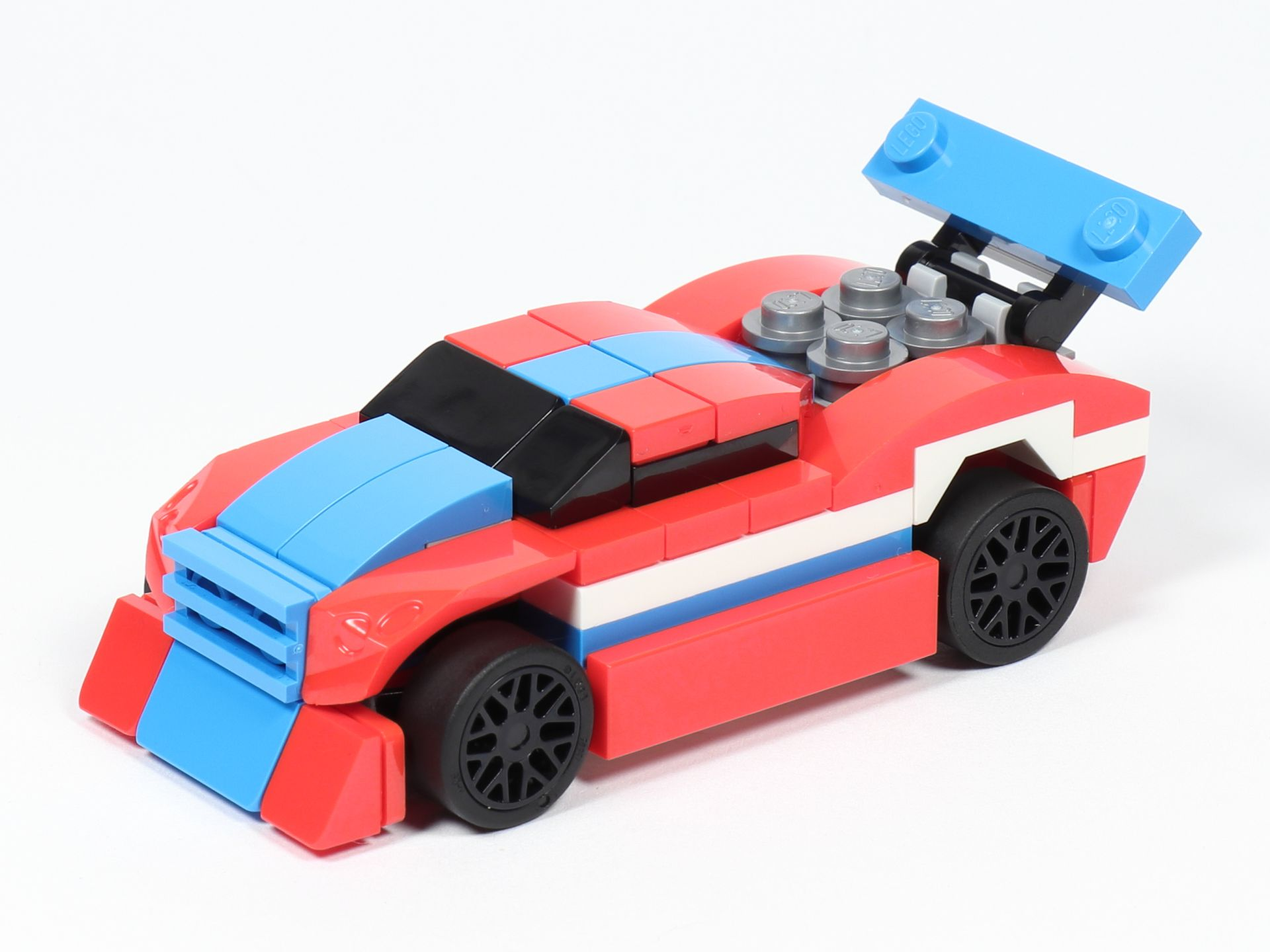 Review Lego Creator 30572 Rennauto Polybag Brickzeit